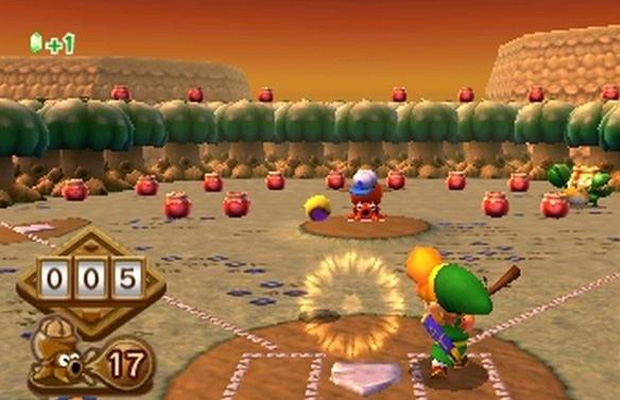 A link Between Worlds Mini Games