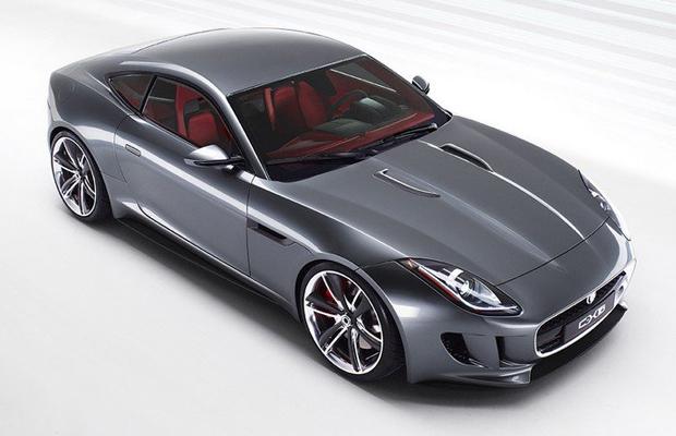 Jaguar F-Type Coupe LA Auto Show