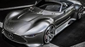 Mercedes-Benz AMG Vision GT Roadster Gets Rendered