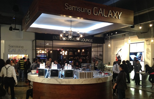 SAmsung Galaxy Studio Soho Pop-up Shop