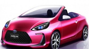 Toyota Aqua Air Concept Set to Debut at 2013 Tokyo Motor Show