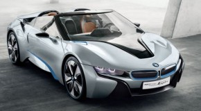 BMW i8 Spyder Green-lit for Production & Due Late 2015