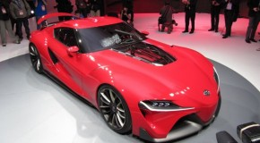 NAIAS 2014: Toyota FT-1 Concept