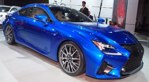 NAIAS 2014: 2015 Lexus RC F Unveiled