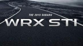 2015 Subaru WRX STI Debuting at NAIAS 2014