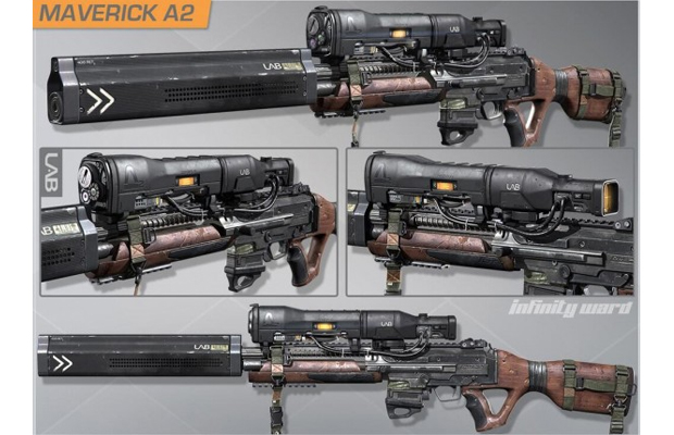 Call of duty ghosts Onslaught DLC weapons