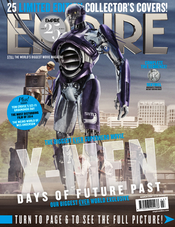 Days of Future Past Sentinels Movie