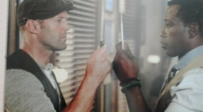 Statham & Snipes Have A Knife Off In New 'Expendables 3' On-Set Pics