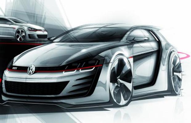 Volkswagen Golf R Evo concept