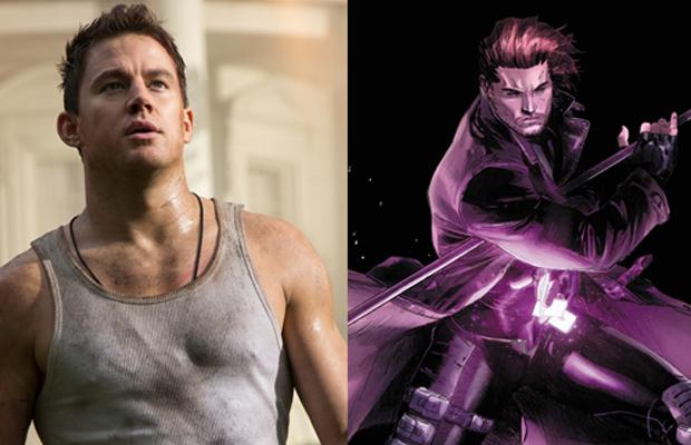 X-Men Gambit Channing Tatum