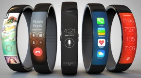 iWatch Concept Combines iPhone Functionality with Nike Fuelband-Like Design
