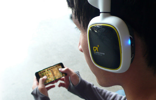 Astro A38 White and Yellow