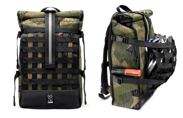 Chrome Barrage Cargo Backpack Camouflage
