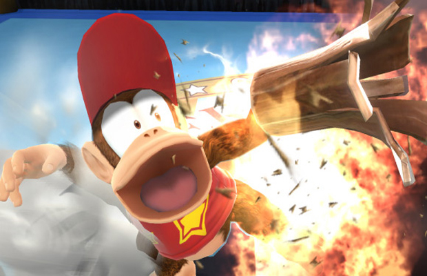 Diddy Kong Super Smash Bros Wii U