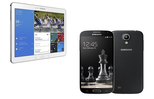 Galaxy Tab 4 and Galaxy S5
