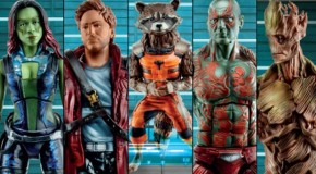 'Guardians of the Galaxy' Action Figures Offer Closer Look At Character Designs