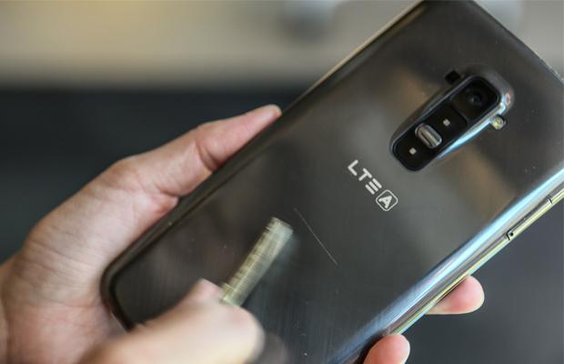 LG G Flex Scratchproof