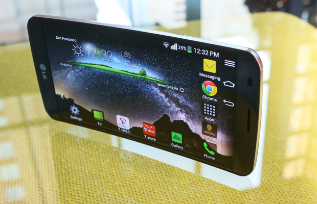 LG G Flex Display