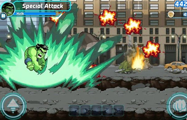 Marvel Run Jump Smash iOS