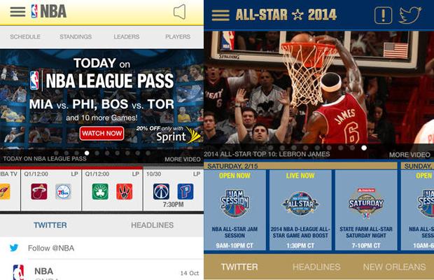 NBA Game Time 2014 App