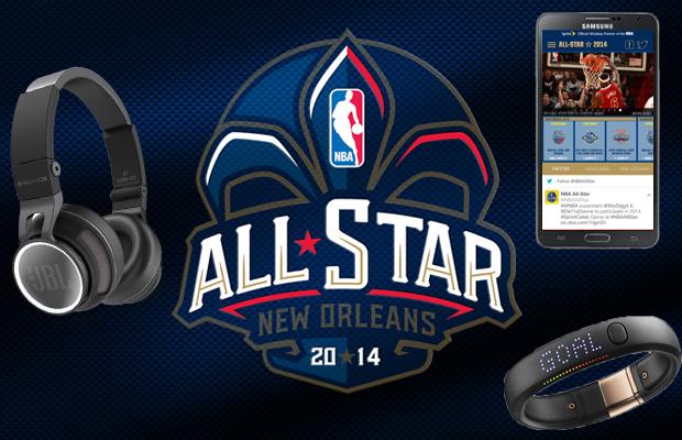 NBA all-Star 2014 Tech Survival Kit