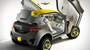Renault Kwid Concept Comes With Its Own Drone