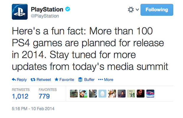 Sony PS4 Games Twittr