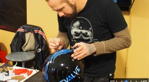 Bell Helmets x Skratch Create Awesome Pinstriped Motorcycle Helmets
