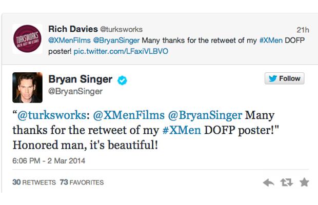 Days of Future Past Bryan Singer