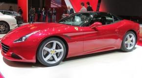 Geneva Motor Show 2014: Ferrari California T Debuts