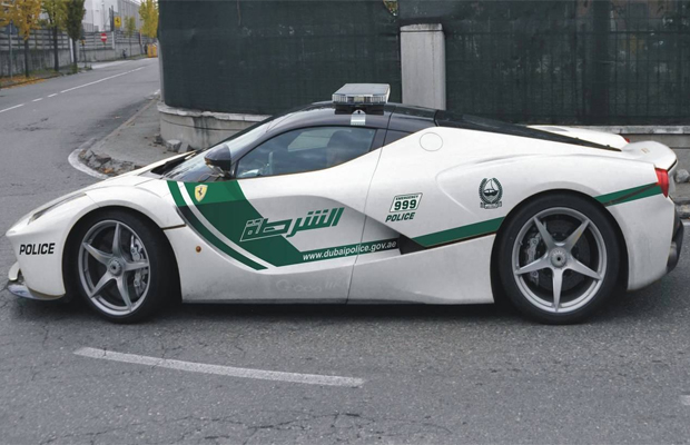 Ferrari LaFerrari Dubai Police Car