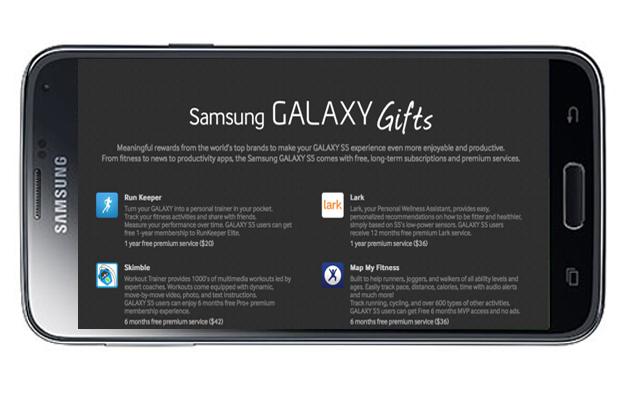 Galaxy Gifts Galaxy S5