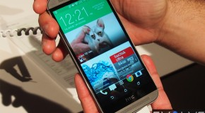 HTC One M8 Design & Duo Camera Preview (Video)