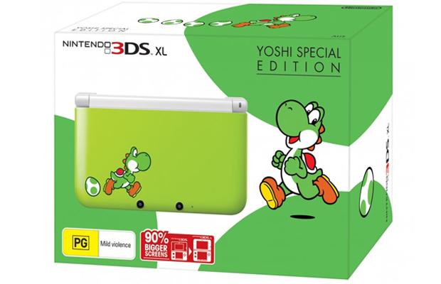 Nintendo 3DS XL Yoshi Edition