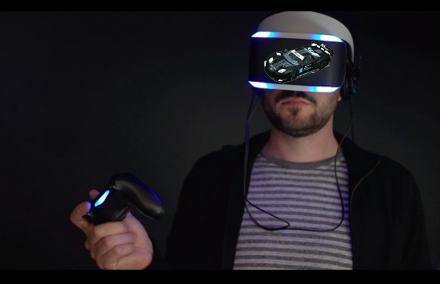 Project Morpheus racing game