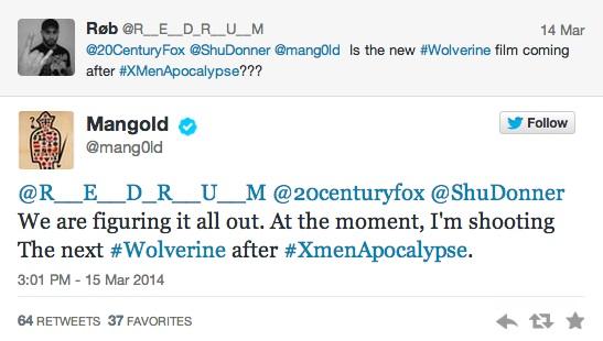 Wolverine 2 James Mangold