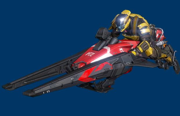 Destiny Upgraded Sparrow