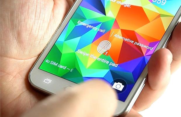 Galaxy S5 fingerprint scanner