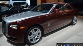 2014 NY Auto Show: Rolls-Royce Ghost Series II Preview (Video)