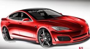 Saleen Automotive Releases Modified Tesla Model S Renderings