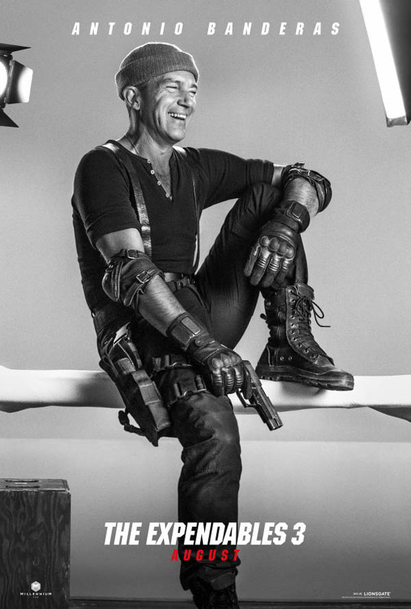 The Expendables 3 Poster Antonio Banderas