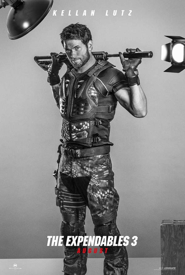The Expendables 3 Poster Kellan Lutz