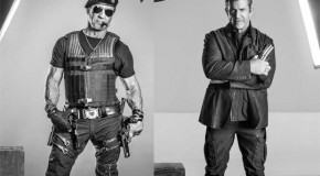 """Roll Call of """"The Expendables 3"""" Character Posters Premiere Online"""