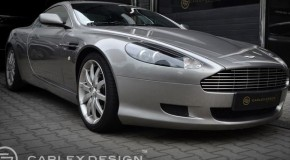 Carlex Design Kits Out Aston Martin DB9 Vesper
