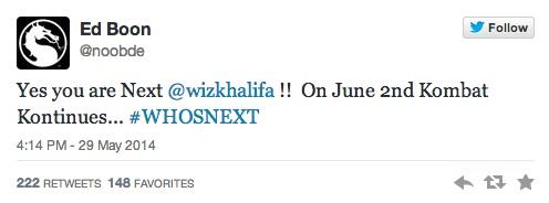 Ed Boon MK tweet