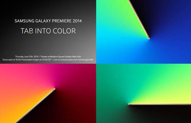Galaxy Tab S Invite