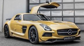 Mercedes SLS AMG Receives Sweet Tune-Up Job