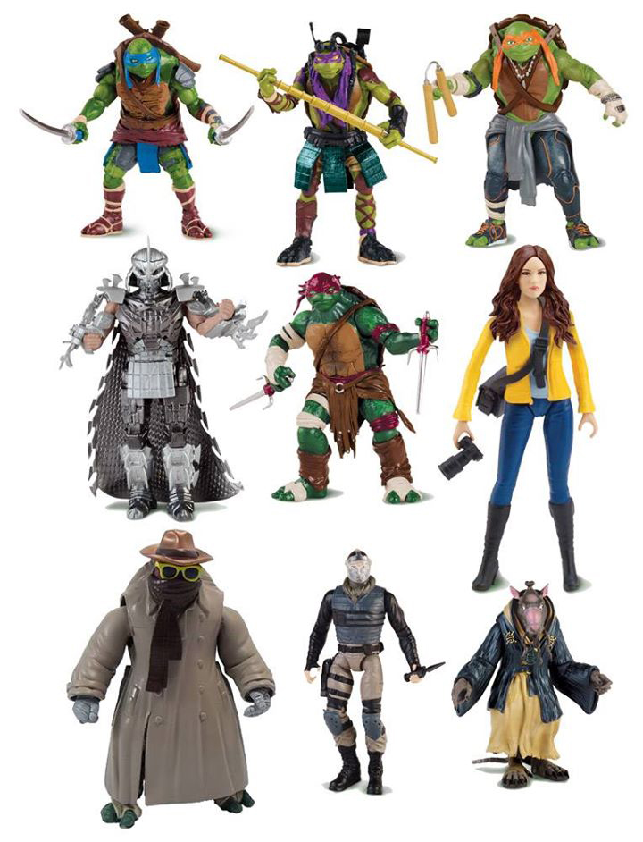 Teenage Mutant Ninja Turtles Toys 2014