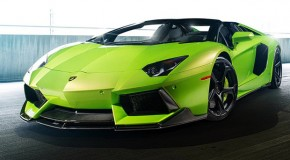 "Vorsteiner's ""The Hulk"" Lamborghini Aventador Set to Smash the Road"