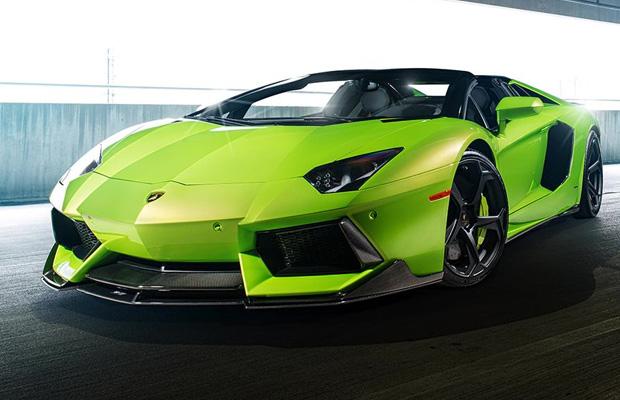 The Hulk Lamborghini Aventador